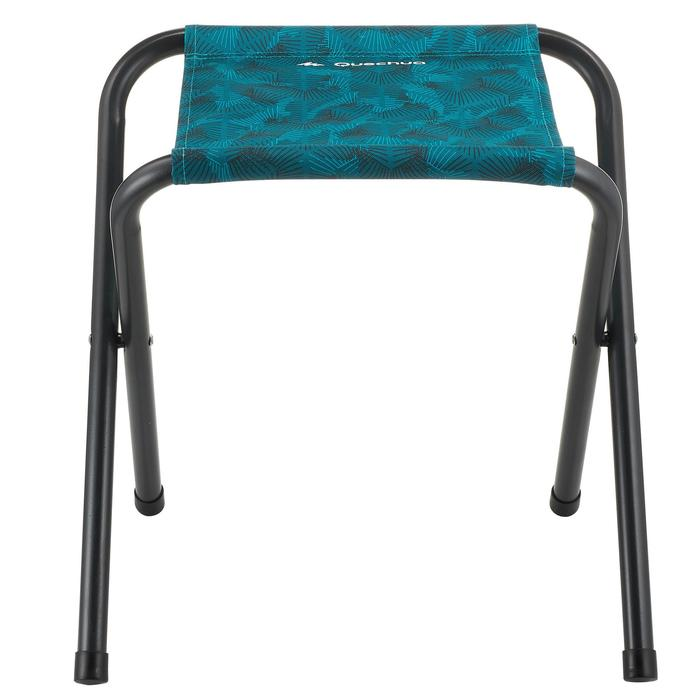摺疊式露營椅-藍色