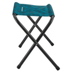 Folding camping stool blue