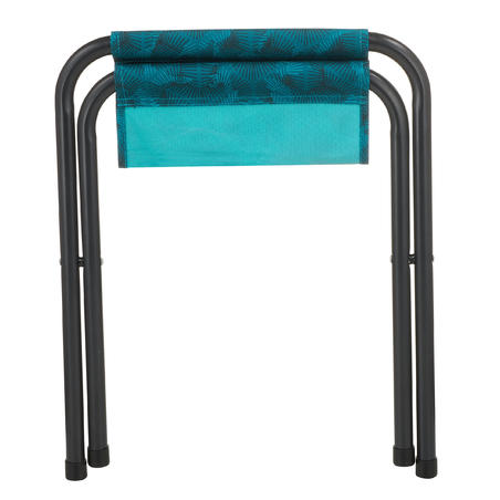 Folding camping stool - Blue