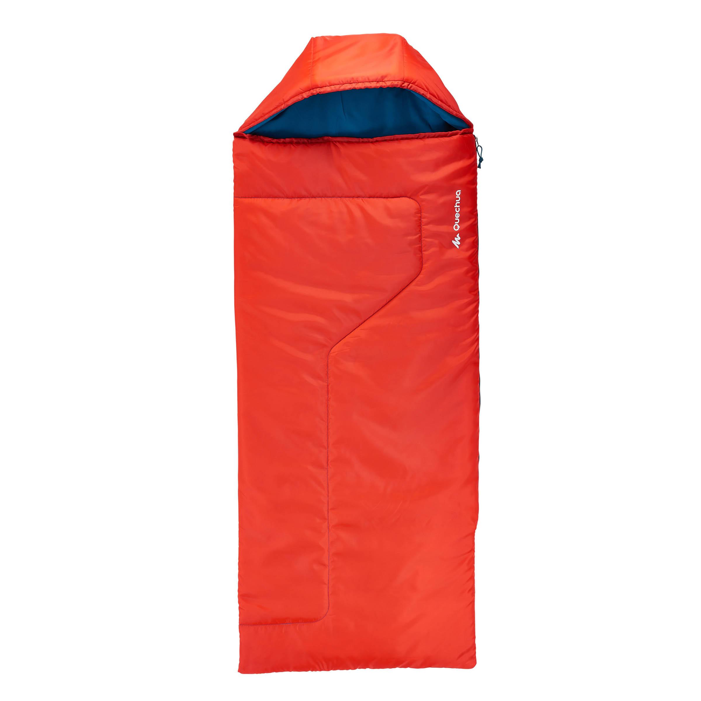 Sleeping bag de campismo niños FORCLAZ 10° rojo