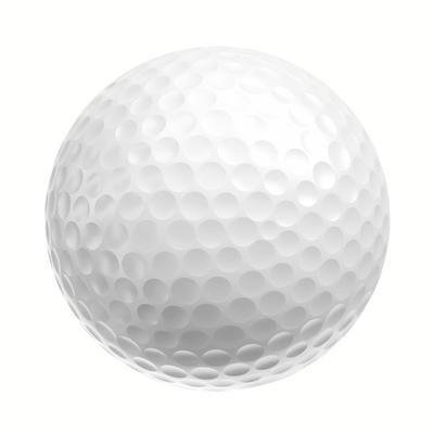 М'ячі для гольфу Distance 100, 12 шт. - Білі