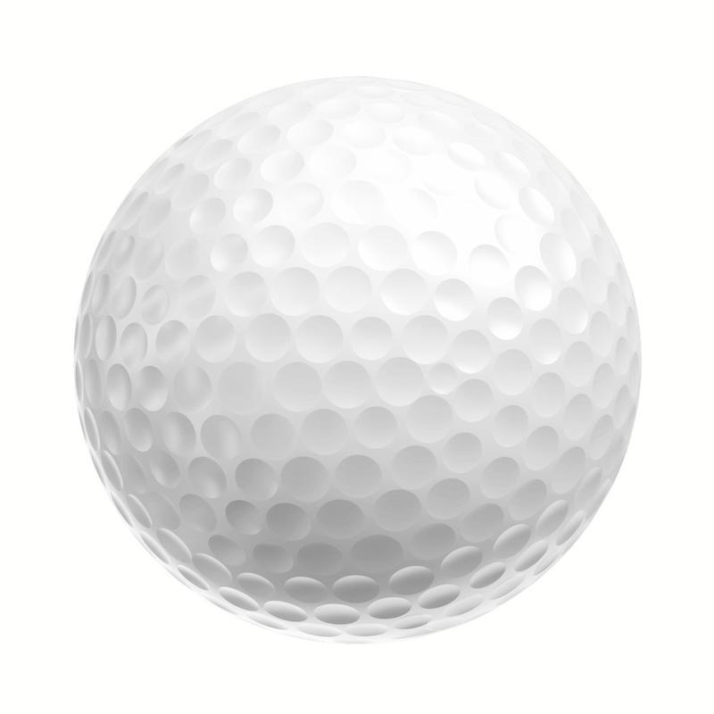 Pelota de golf DISTANCE 100 X12 blanca
