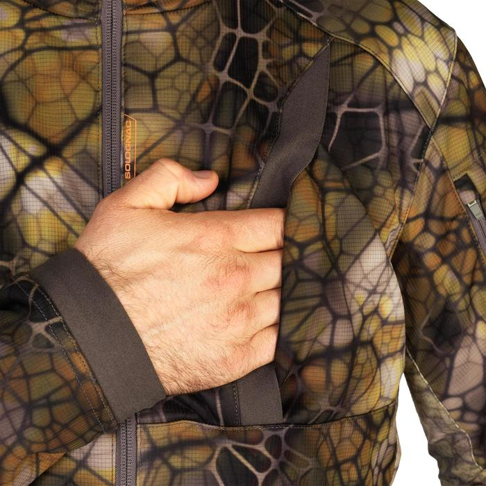 Geluidloze warme ademende camouflagejas voor de jacht 900 Furtiv