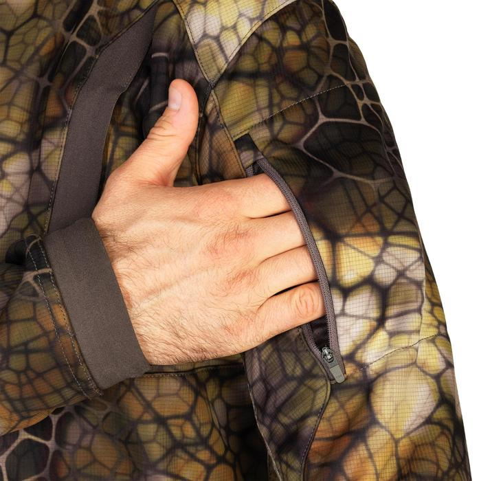 Veste chasse Silencieuse Chaude Respirante 900 camouflage Furtiv