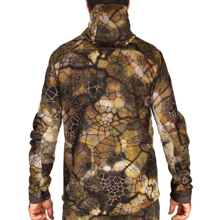 Hunting Silent Warm Breathable Jacket 900 - Furtiv Camouflage