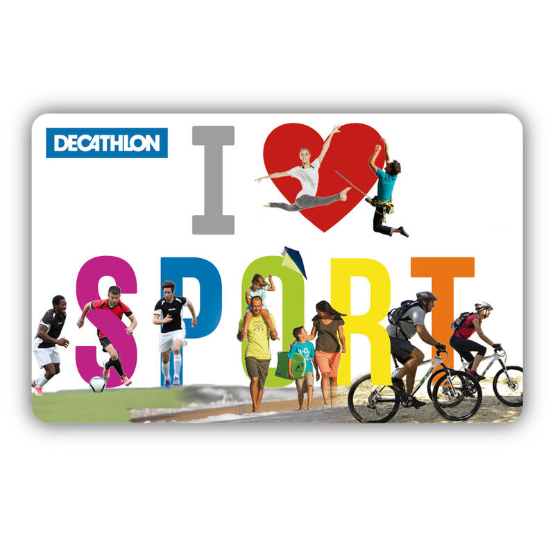 Decathlon digitale sport cadeaubon