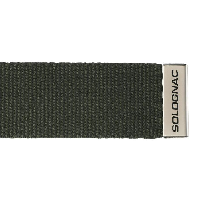 Cinturon Caza Solognac Sg100 Ajustable Verde