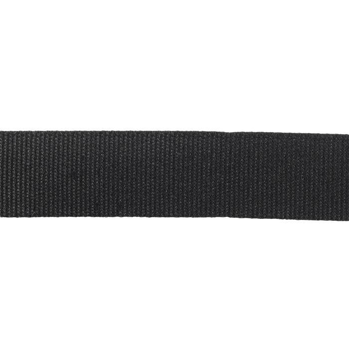 Cinturon Caza Solognac Sg100 Ajustable Negro