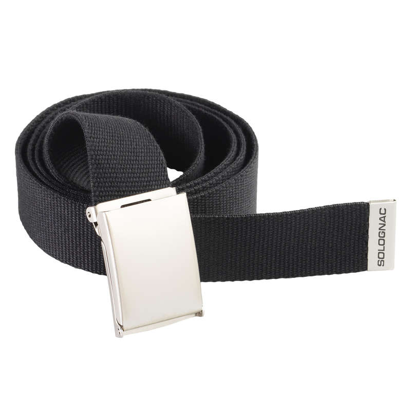 TROUSERS/SHIRTS Clothing  Accessories - BELT 100 black SOLOGNAC - Clothing  Accessories