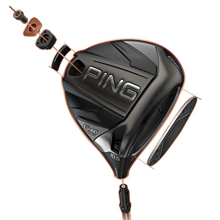 Driver Golf Homme droitier GMAX 10,5° Regular