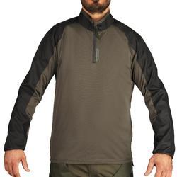Camiseta Caza Solognac Sgts 100 Refuerzo Verde