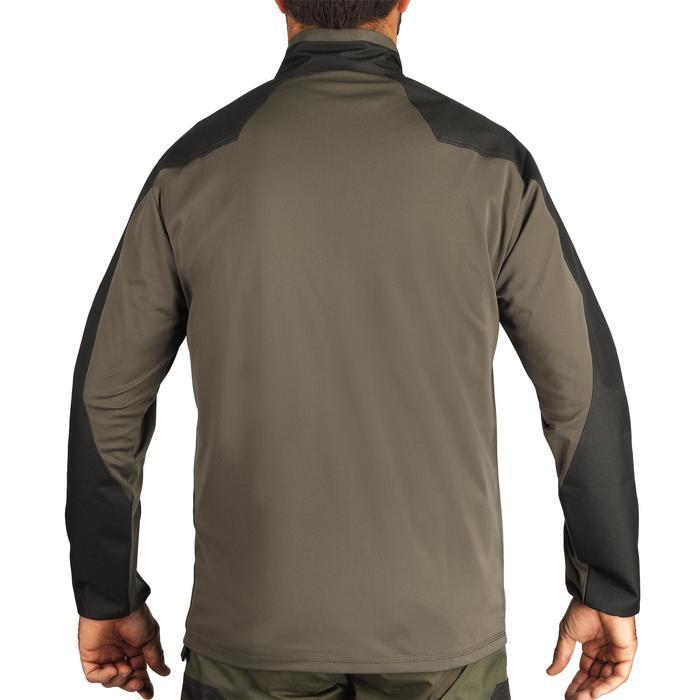 Jagd-T-Shirt Langarm Renfort 100