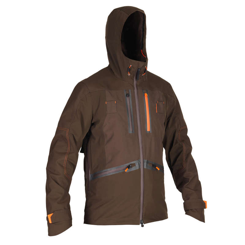 REINFORCED WARTERPROOF CLOTHING Shooting and Hunting - Waterproof jacket renfort 900 SOLOGNAC - Hunting and Shooting Clothing