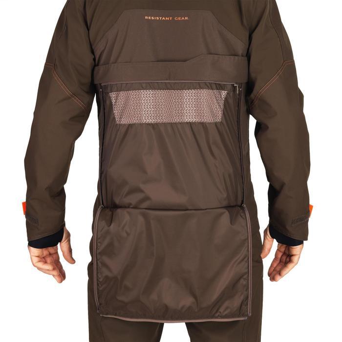 Jagd-Regenjacke Renfort 900 braun