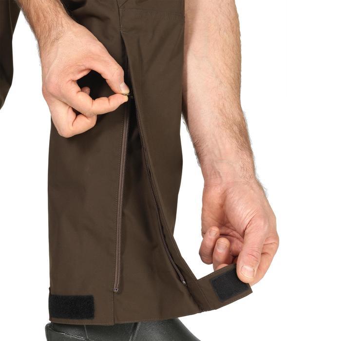 Pantalon Caza Solognac Sgtr 900 Impermeable Resistente Transpirable Marron