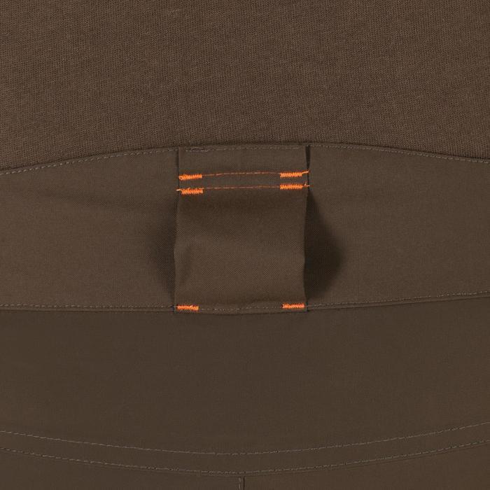 Jagd-Regenhose SGTR900WW verstärkt wasserdicht braun