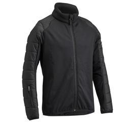 兒童馬術雙布料外套Safy–黑色