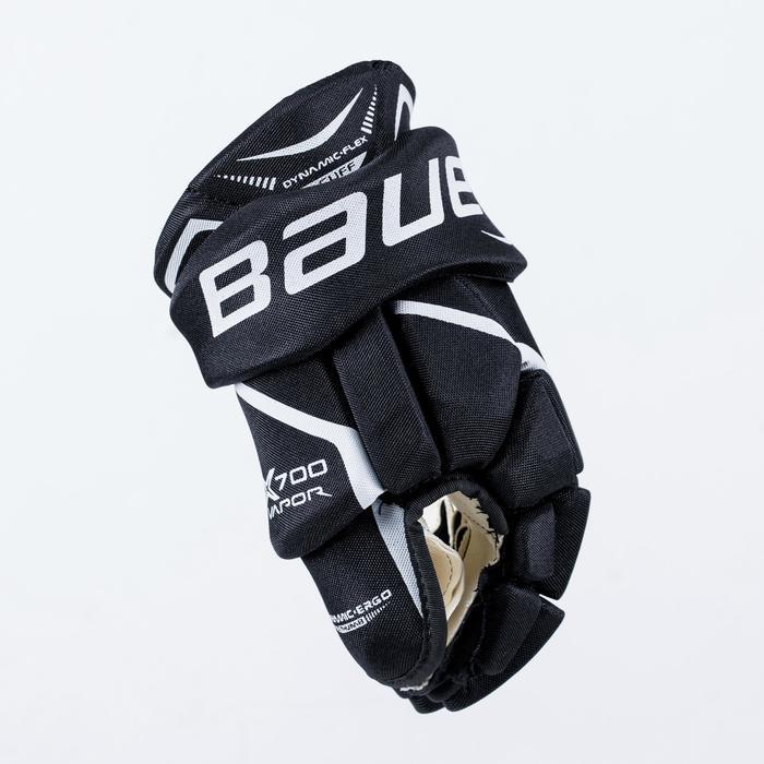 Hockeyhandschoenen Vapor X700 voor kinderen zwart en wit