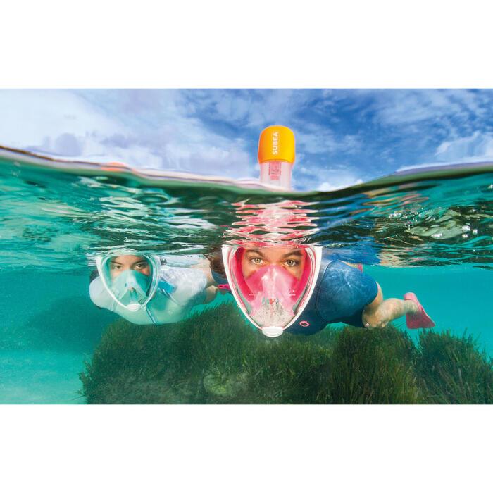 浮潛面罩呼吸管Easybreath Snorkelling Mask Snorkel