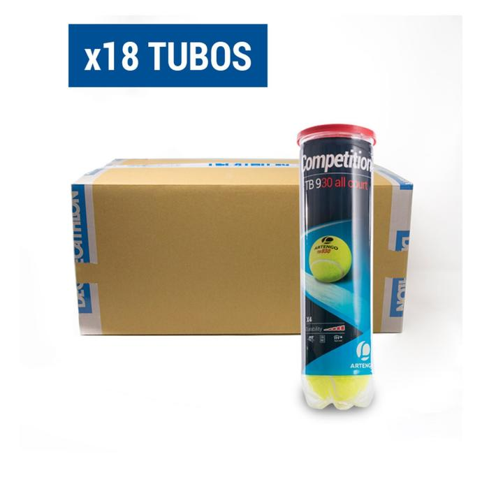 PACK x18 COMPETICIÓN TB930 GROC