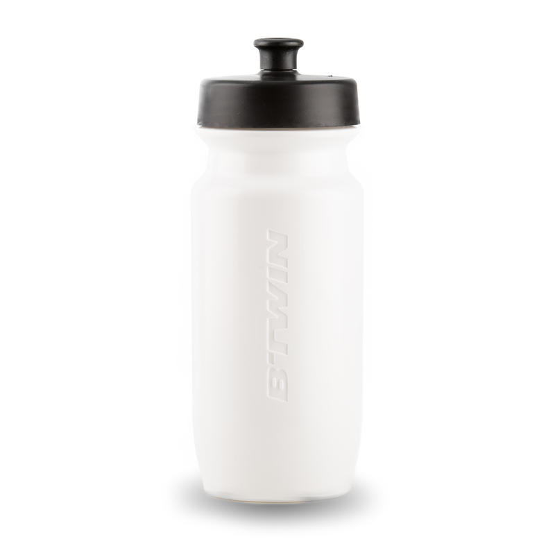 Botella ciclismo 550 ml blanca