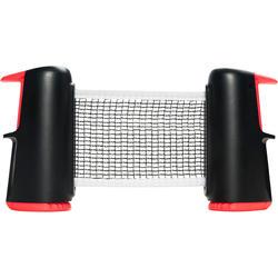 Tafeltennisnetje Rollnet Small zwart/rood