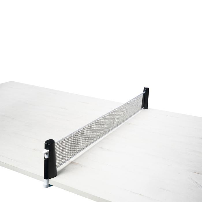 Tafeltennisnetje Rollnet Set met 2 batjes en 2 balletjes