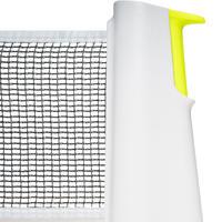 Сітка Rollnet для настільного тенісу, стандартна - Біла/Жовта