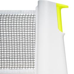 Tischtennisnetz Rollnet Standard weiß/gelb