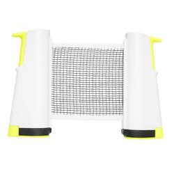 Tafeltennisnetje Rollnet wit/geel