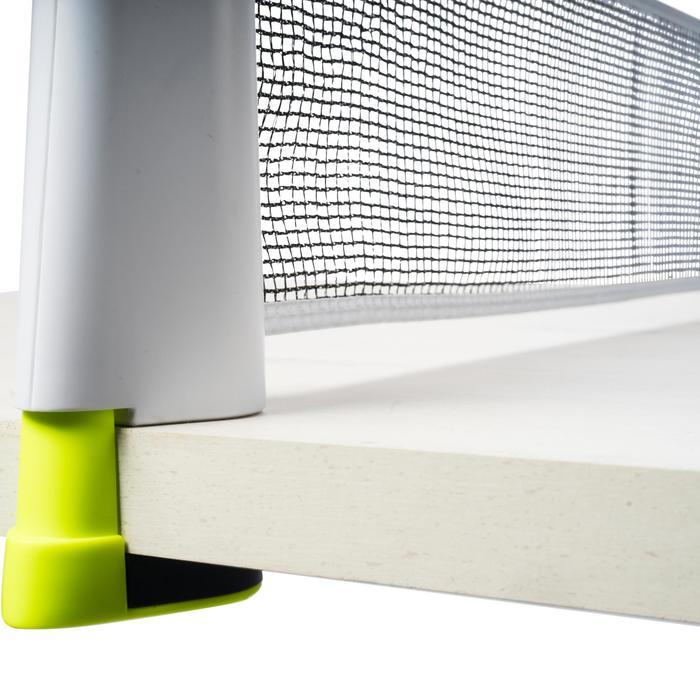 FILET DE TENNIS DE TABLE ROLLNET STANDARD BLANC-JAUNE - 1346500
