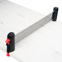 Tennistafelnet Rollnet small zwart/roze