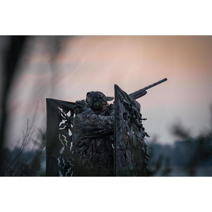 Jagd-Unterstand faltbar camouflage