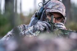 Piquets d'affût télescopiques chasse (x2)