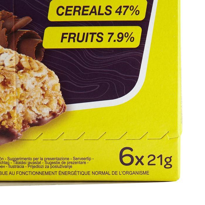 Barrita de cereales CLAK chocolate y plátano 6 x 21 g