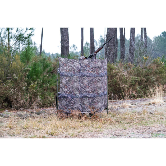 FILET CHASSE LIGHT 1,4M x 2,2M CAMOUFLAGE BROWN