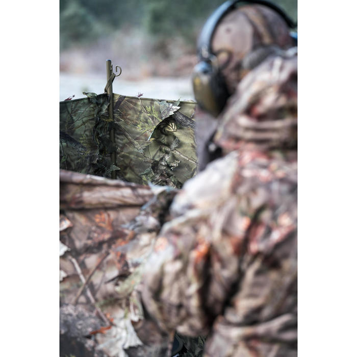FILET CHASSE CAMOUFLAGE REVERSIBLE 3D 1,5M x 3,8M