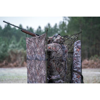 FILET CHASSE CAMOUFLAGE REVERSIBLE  3D 1,5M x 3,8M - 1346669
