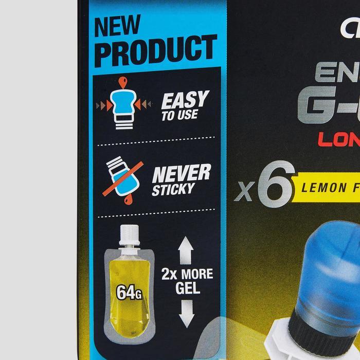 Voordeelpak energiegels G-Easy Long Distance citroen 6x 64 g