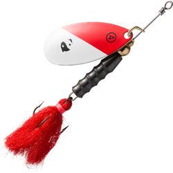 Spinners voor roofvissen Weta Puff #4 red head