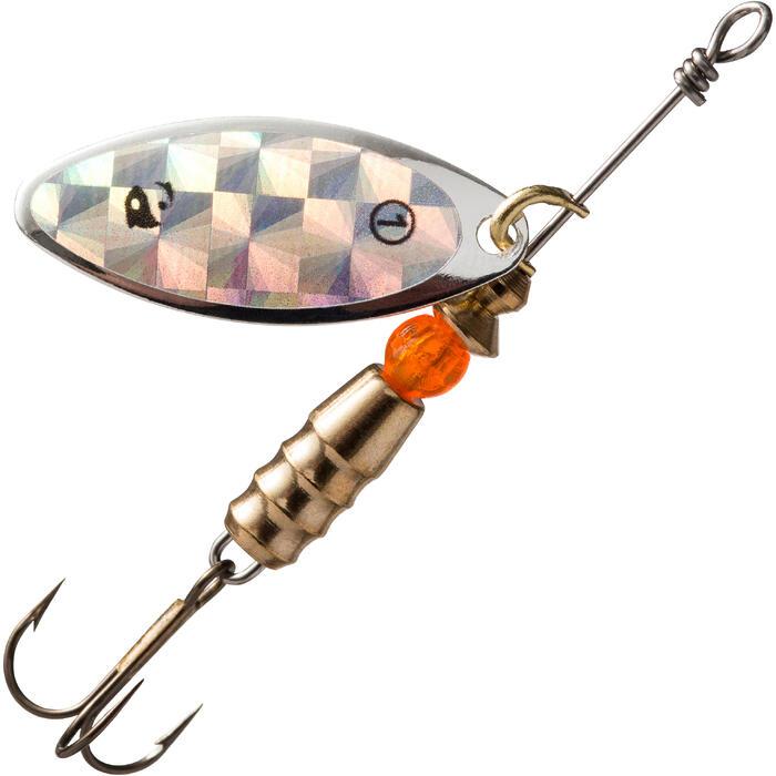 Spinner voor roofvissen Taro #1 holografisch