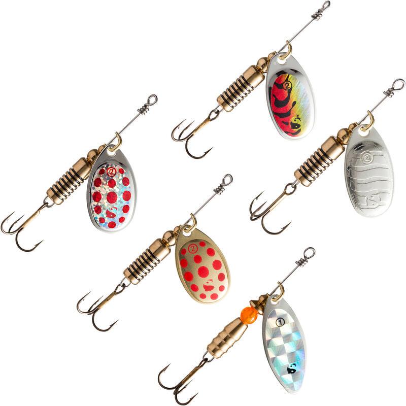Set Linguriţe Rotative Pescuit la Răpitori Wero