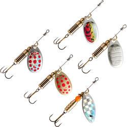 Set spinners voor roofvissen Wero new