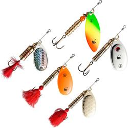 Set spinners voor roofvissen Neman new