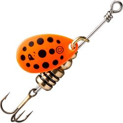 Spinners voor roofvissen Weta + #0 rode stippen