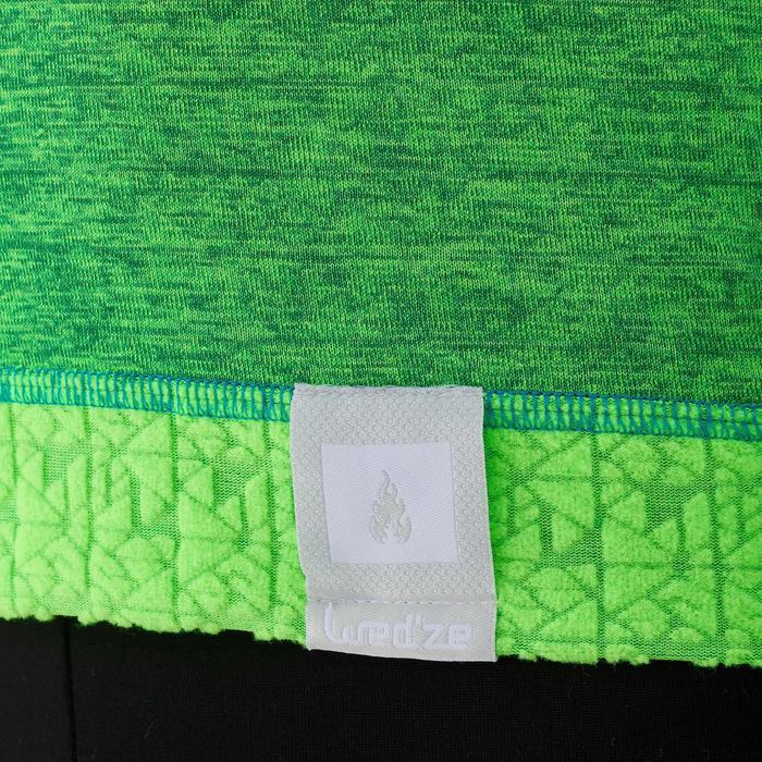 Camiseta de esquí niño 2WARM verde