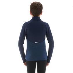 Doublure de ski enfant MID CHAUDE 500 Bleue