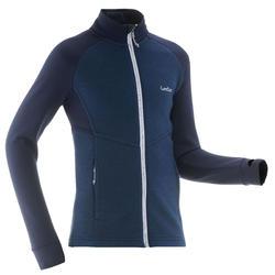 Sous-veste de ski enfant MID WARM 500 Bleue