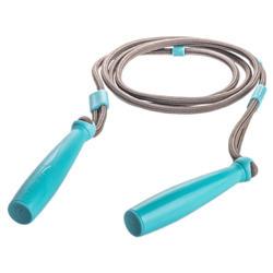 Corde à sauter bleu turquoise junior