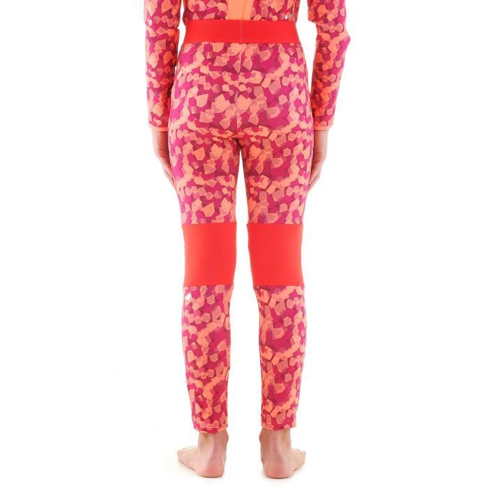 Prenda interior pantalón de esquí júnior Freshwarm ROSA